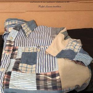 Ralph Lauren Denim & Supply Patchwork Colorblock